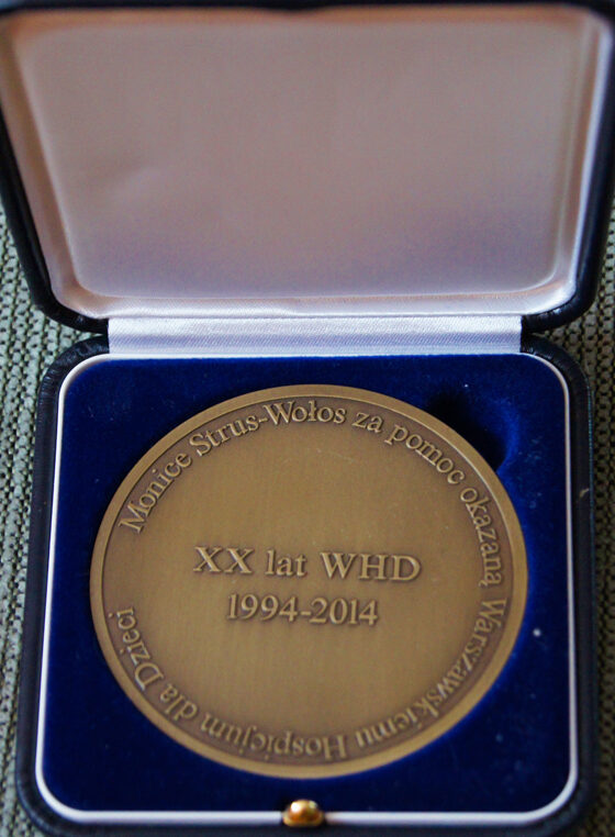 Nagroda dla mecenas Moniki Strus Wołos
